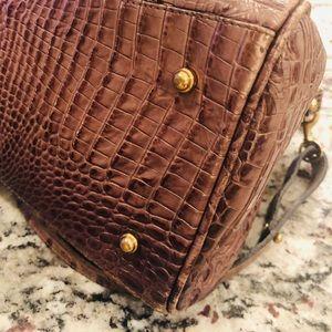 Brahmin Bags - Brahmin Brown Taupe Louise Satchel